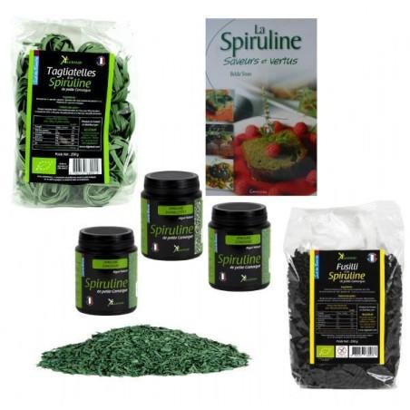 Cuisinez à la Spiruline (pack)