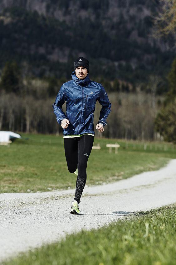homme dans la pratique du running