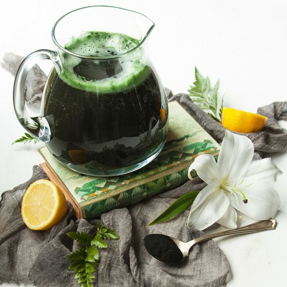limonade a la spiruline